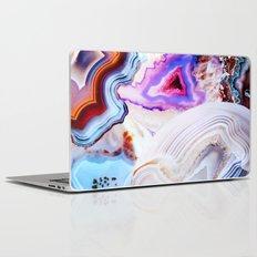Agate, a vivid Metamorphic rock on Fire Laptop & iPad Skin