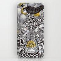 Roller Coaster Ride iPhone & iPod Skin