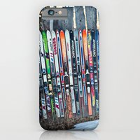 Skis iPhone 6 Slim Case