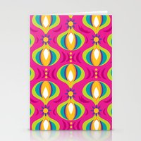 Oohladrop Fuschia Stationery Cards