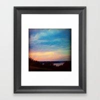 Casco Bay Framed Art Print