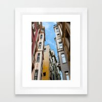 Colors of Istanbul Framed Art Print