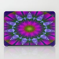 Abstract Metallic Flower iPad Case