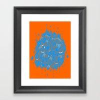 Float Cluster Framed Art Print