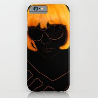 iPhone & iPod Case featuring Elly Orange by Victoria Dawn Burgamy