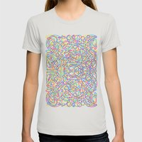 cmyk Womens Fitted Tee Silver SMALL