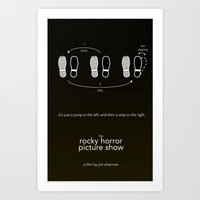 Rocky Horror Picture Show Art Print