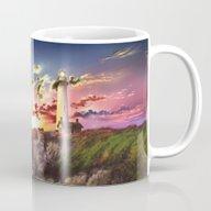 Lighthouse Landscape Sky Mug