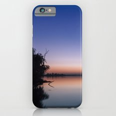 Sunset at the lake. iPhone 6 Slim Case
