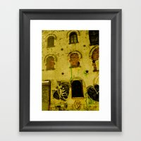 Urban Gold  Framed Art Print