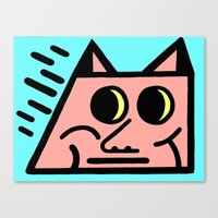 Pointy Canvas Print