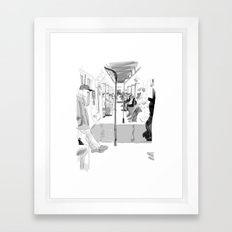 The Long Ride Framed Art Print