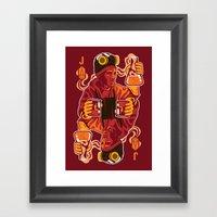Chili-P Pinkman Framed Art Print