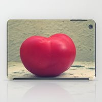 Tomato Red iPad Case