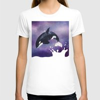 T-shirts featuring Orca by Ale Ibanez