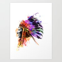 Harmony Apache Art Print