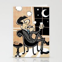 A Cigar At The 15th Stre… Stationery Cards