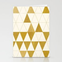 fractal Stationery Cards featuring My Favorite Shape by Krissy Diggs