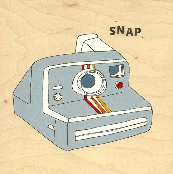 snap Art Print