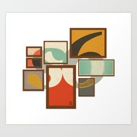 S6 Tee - Frames Art Print