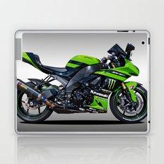 Kawasaki Motorbike Laptop & iPad Skin