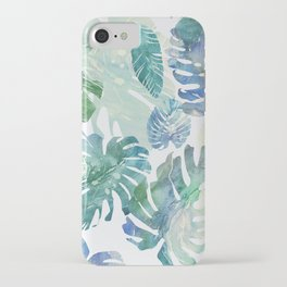 iPhone & iPod Case - tropical cold leaves - franciscomffonseca