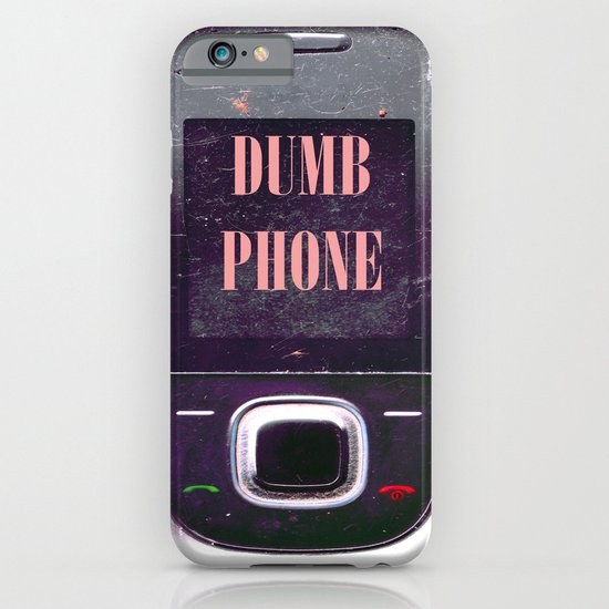 Dumb Phone iPhone & iPod Case