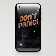 Don't Panic iPhone & iPod Skin