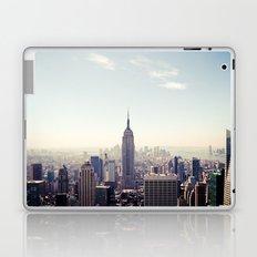 Manhattan - Empire State Building Pano | colored Laptop & iPad Skin