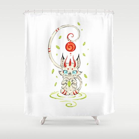 Little Monster 2 Shower Curtain