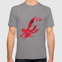 Little Red Hood Mens Fitted Tee Tri-Grey SMALL