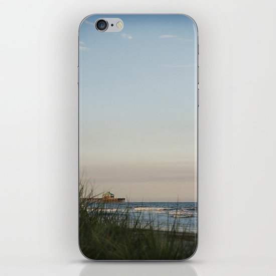 Folly Beach Pier iPhone & iPod Skin