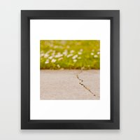 Imperfection Framed Art Print