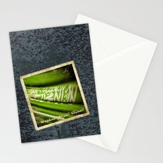 Grunge sticker of Kingdom of Saudi Arabia flag Stationery Cards
