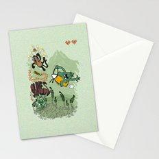 9 lives - game over Stationery Cards