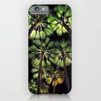 Palm Trees Night Walk iPhone 6 Slim Case