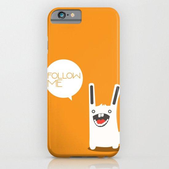 Follow The White Rabbit iPhone & iPod Case