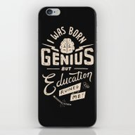 Born Genius iPhone & iPod Skin