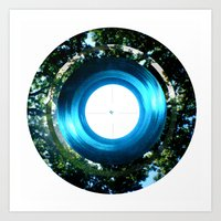 Circle Circle Art Print