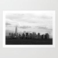 Manhattan Skyline From L… Art Print