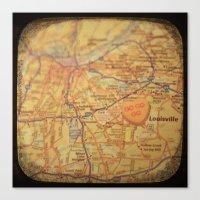 Go Go Go Louisville Canvas Print