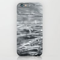 Fire Grass in Black and White iPhone 6 Slim Case