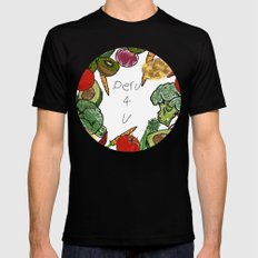 Peru 4 U Merch - Produce Aisle Tee SMALL Black Mens Fitted Tee