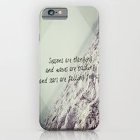 iPhone & iPod Case featuring Seasons are changing and waves are crashing and stars are falling for us. by savannarose