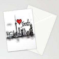 I love Toronto  Stationery Cards