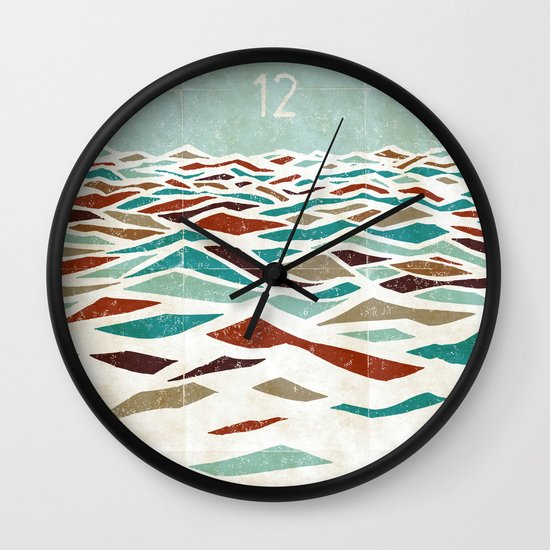 Sea Recollection Wall Clock