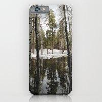 Snowy Forest Grammer iPhone 6 Slim Case