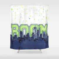Seattle Legion Of Boom S… Shower Curtain