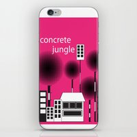 concrete jungle iPhone & iPod Skin