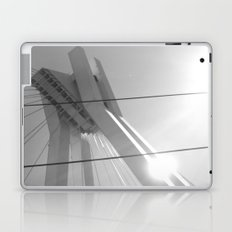 Bridge in Ludwigshafen, Germany. Laptop & iPad Skin